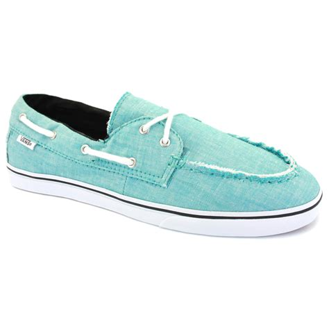 vans zapato low womens boat shoes light blue