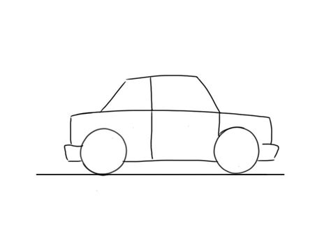 easy car to draw for junior car designer