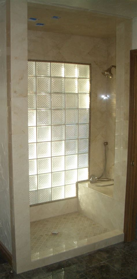 glass block designs for bathrooms glass blocks to let light into bathroom ideas for my