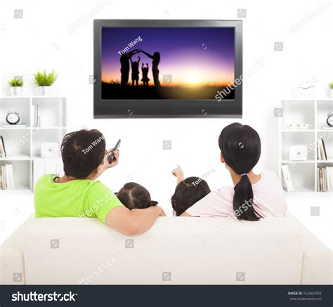asian family watching tv together in living room this is family watching tv living room stock photo 152067002