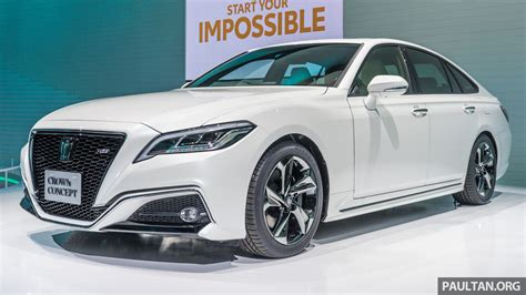 toyota crown 2017 toyota crown concept sportier than