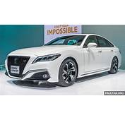 Tokyo 2017 Toyota Crown Concept Sportier Than Ever