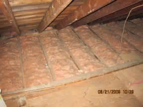 home attic insulation images