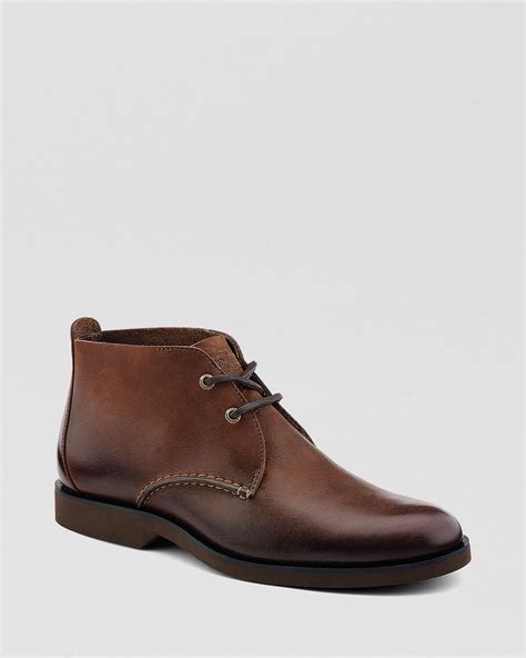 best chukka boots sperry top sider leather chukka boots in brown for