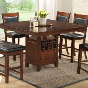 dining room table with wine rack dining rooms liam furniture rugs and dining table room