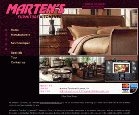 Furniture Stores In Kitchener Ontario Martensfurniture Ca Martens Furniture In Kitchener