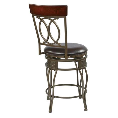 30 quot metal swivel bar stool in espresso csm2530 es 24 quot metal swivel counter stool in espresso csm2524 es