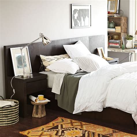 west elm storage bed storage bed headboard chocolate west elm