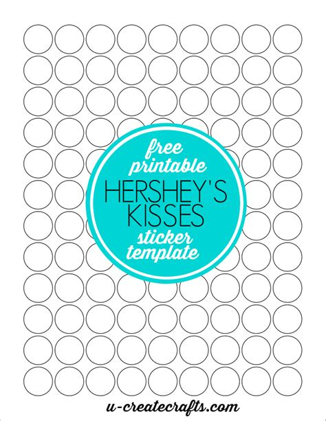 printable kisses labels free printable hershey s kisses sticker template by u