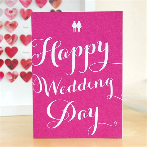 next day wedding card same happy wedding day card by pink and turquoise
