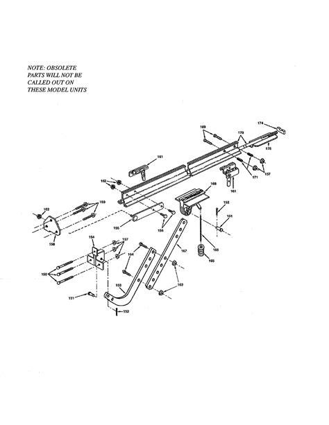 Genie Garage Door Opener Parts Model Cm8500s Sears Genie Garage Door Opener Parts Diagram