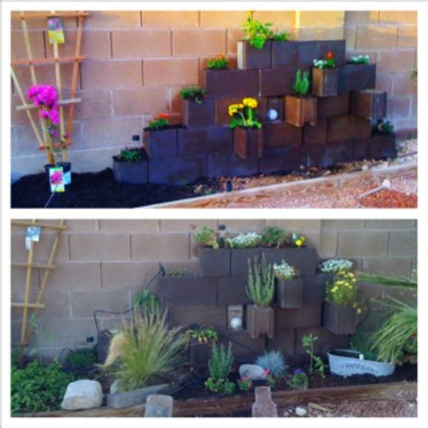 The Block Vertical Garden 182 Best Images About Landscapes Cinder Blocks On