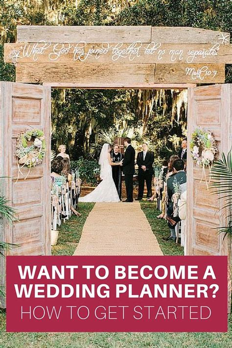 how to become a wedding planner a guide wedding planning tips pinterest wedding