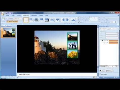 cara membuat film pendek dari power point tutorial powerpoint 2007 cara membuat slideshow video