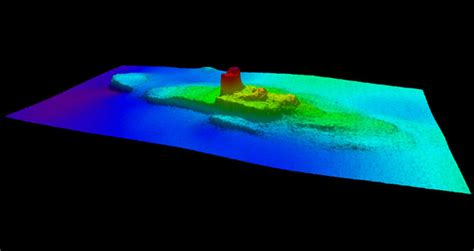 higgins lake sunken boat noaa coast survey ship finds 19th century shipwreck off