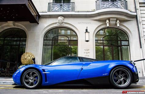 blue pagani gallery blue pagani huayra in paris by jayr photography