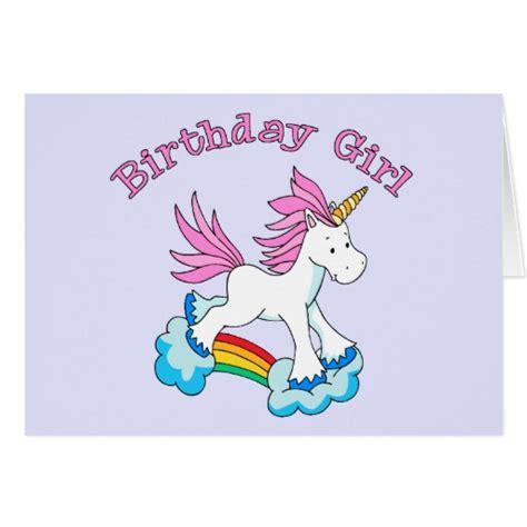 Unicorn Cards - unicorn rainbow birthday cards zazzle