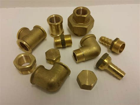 Plumbing Fittings by Brass Pipe Fittings Bsp 1 4 Quot To 2 Quot Plumbing Ebay
