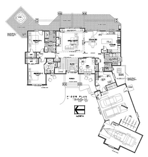 floor plan blueprints luxury house plans