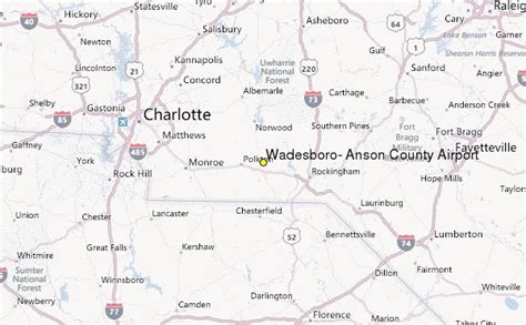Anson County Records Wadesboro Anson County Airport Nc Weather Station Record Historical Weather For