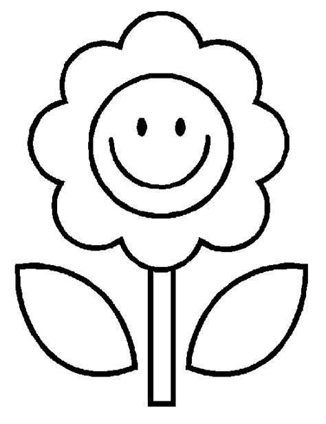 imagenes de flores faciles para colorear dibujos infantiles f 225 ciles y bonitos para pintar