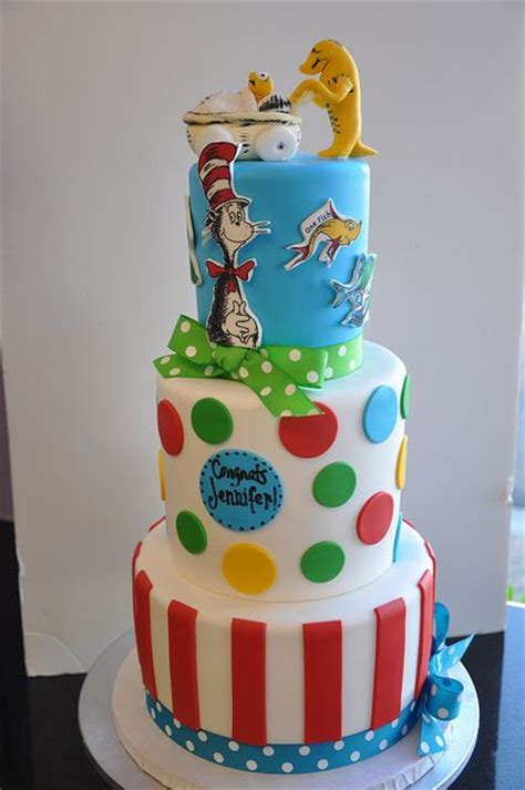 Dr Seuss Cakes Baby Shower by Babies Dr Seuss And Cakes On