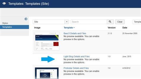 how to install new joomla template install new joomla template studyopedia