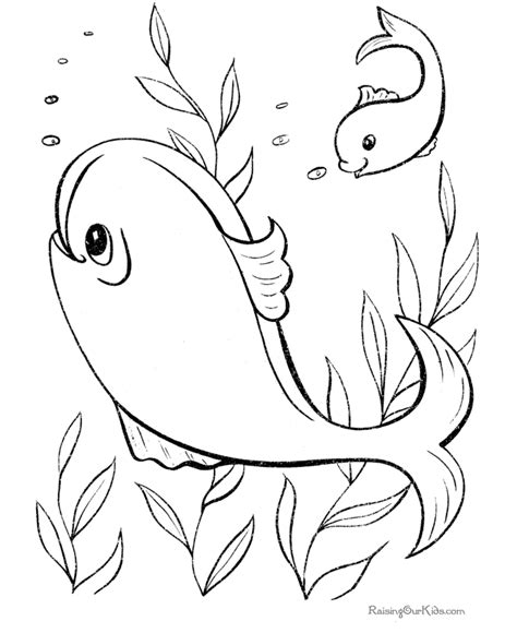 Free Fish Shape Coloring Pages Free Coloring Pages Of Fish