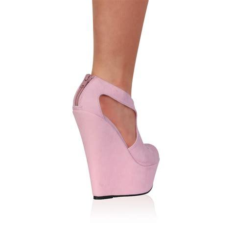 womens peep toe evening platform high heel