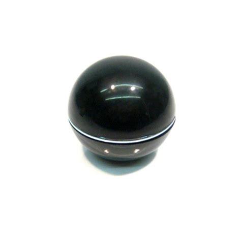 pomello marce pomello leva marce nero con anello cromato n p m