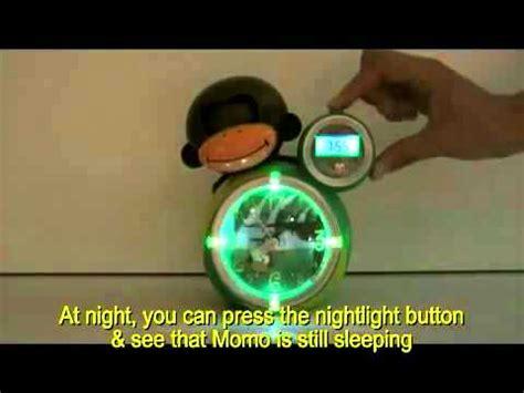 slaaptrainer aap babyzoo slaapklok aapje groen roze 90002 youtube