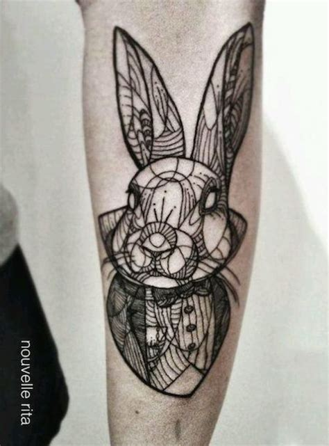 tattoo old school rabbit 100 best alice in wonderland tattoos tattooblend