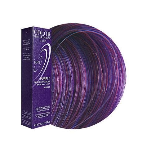color brilliance purple purple semi permanent hair color products i ion