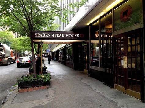best steak houses nyc sparks steak house restaurant on best steakhouse restaurants 2018