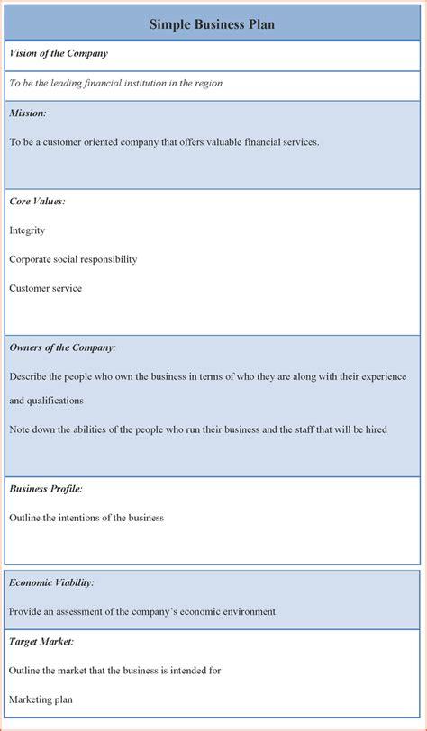 10 free business plan template best templates