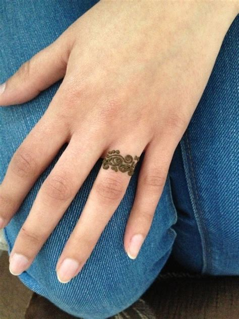 ring finger henna make up nails amp all things pretty