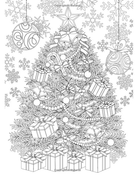coloring pages of christmas for adults adult christmas coloring pages coloring home