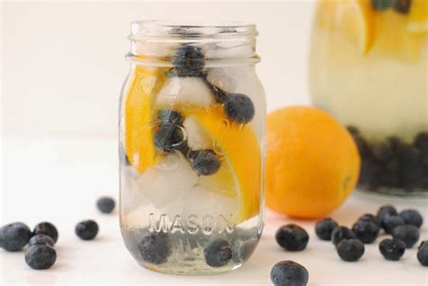Detox Water With Blueberries by Detox Water Recipes For Weight Loss Part 2