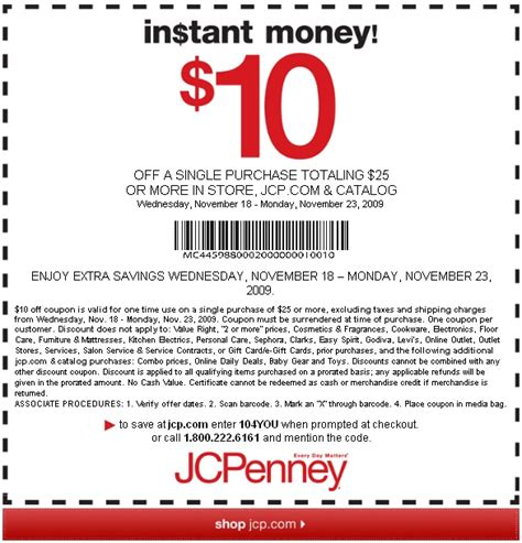 Jcpenney Printable Coupons August 2018