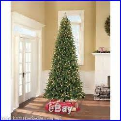 ultra slim pencil christmas tree pre lit 9 williams slim pine artificial tree clear lights decor world