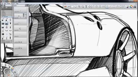 sketchbook pro undo sketchbook pro supercar concept sketch