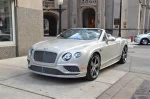 Bentley P 2017 Bentley Continental Gtc Speed New Bentley New