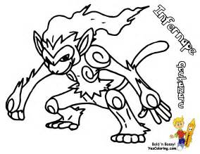 infernape pokemon colouring pages