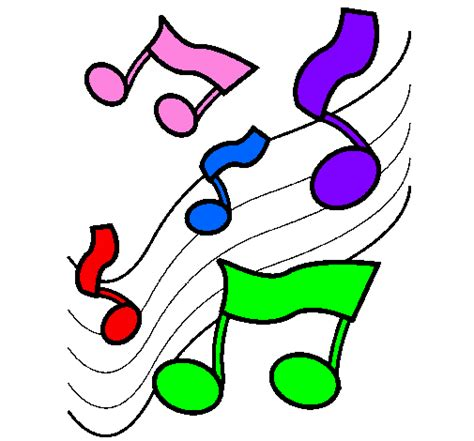 music scale coloring pages colored page musical notes on the scale painted by maria