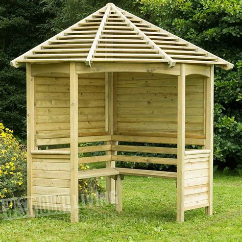 garden bench arbour corner garden arbour seat delivery and assembly garden
