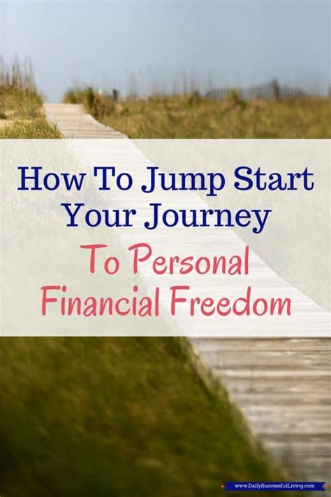 start  journey  personal financial freedom