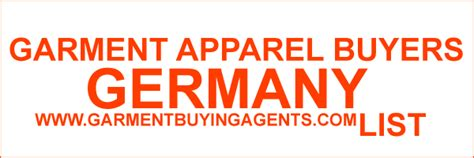 garment buying house in europe garment buyers importers and distributor in germany garment buyers and apparel