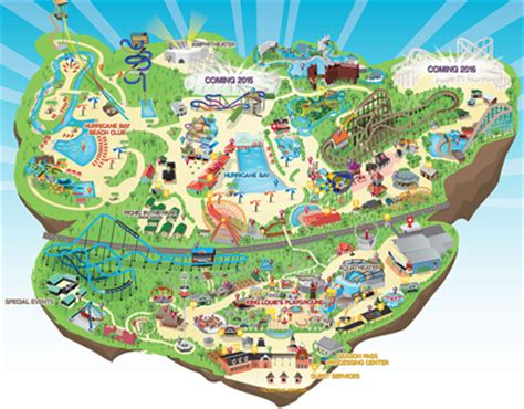 kentucky kingdom map kentucky kingdom park map on behance
