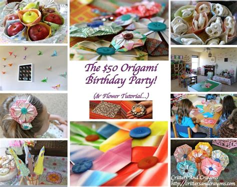 Origami Birthday Decorations - 50 best origami images on birthday