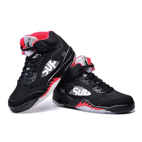 womens jordans basketball shoes air 5 sup basketball shoes black original